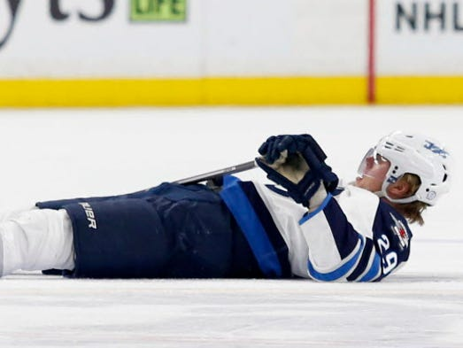 Patrik Laine, forward, Jets: Out indefinitely with