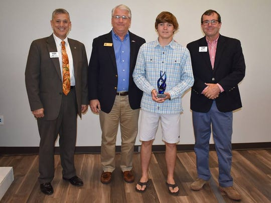 2017 Environmental Youth Hero-Will Johnson, Joe Flescher, Tim Zorc, Will Johnson, Troy Westover.