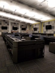 The newly constructed E-911 center on Airport Road