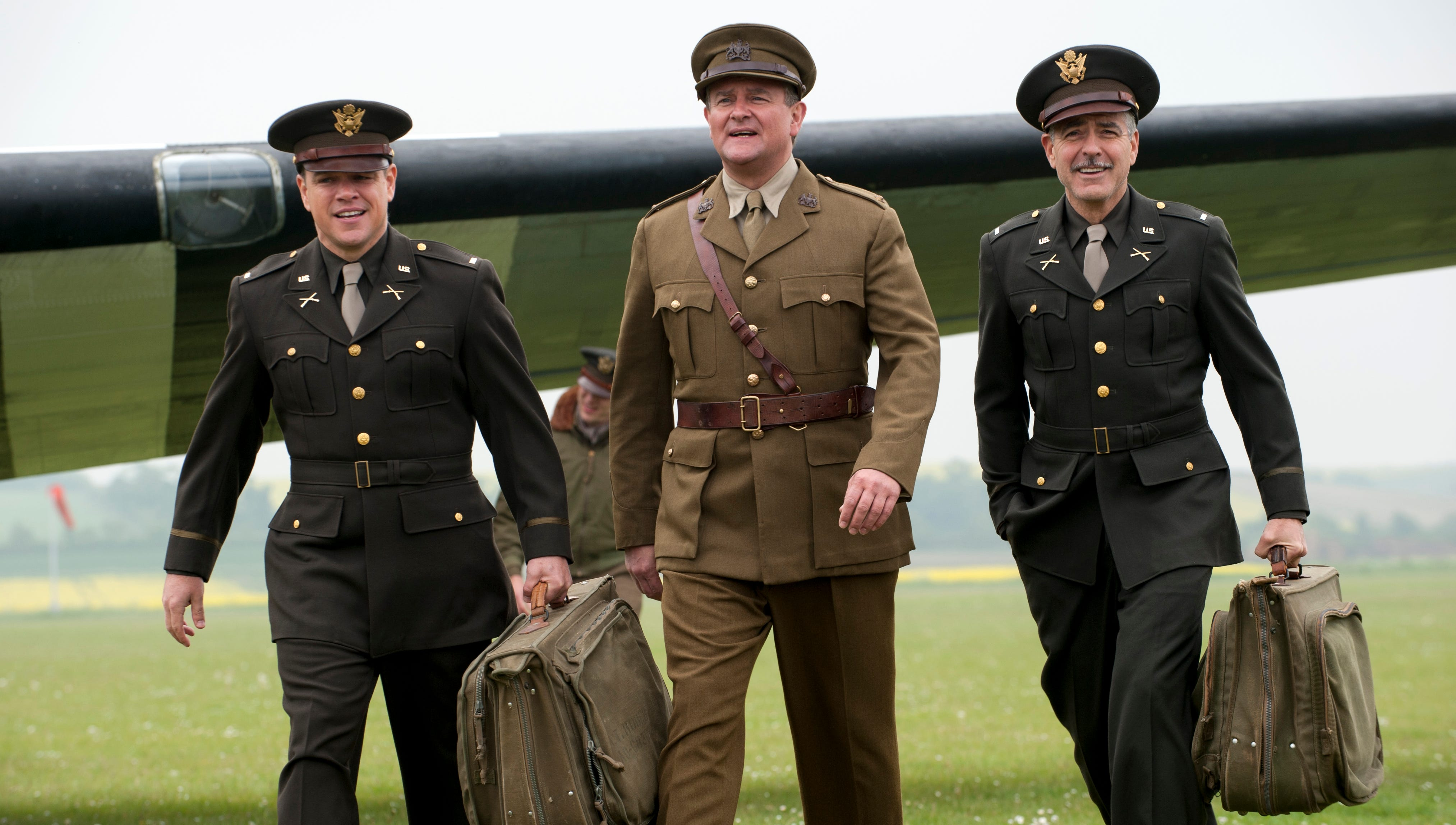 Matt Damon, Hugh Bonneville and George Clooney star as a troop of art experts tasked with retrieving art masterpieces that were stolen by the Nazis.