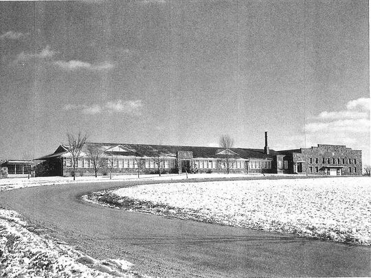 Mountain Home High School in the mid-1950s.