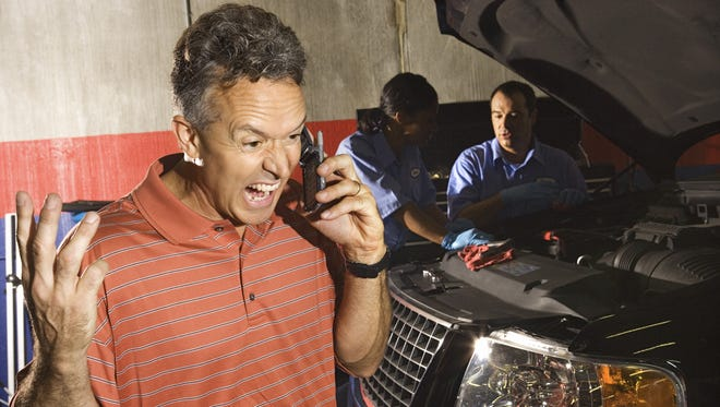 Auto repairs can bring frustrations.