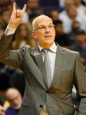 """Suns GM Ryan McDonough described coach Jay Triano as """"smart and experienced,""""  praising him for taking individual time with each player."""