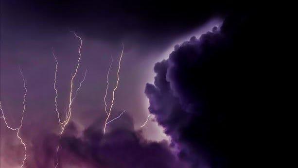 Lightning over Hobe Sound.