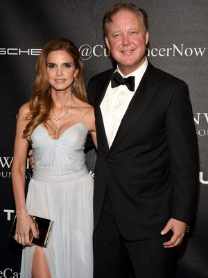 NASCAR CEO and Chairman Brian France and wife Amy France were honored at this year's Angel Ball.