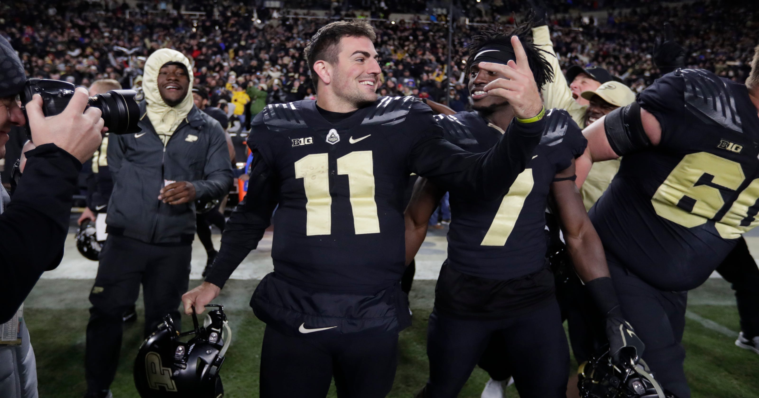 Purdue football sweeps Big Ten weekly awards ba101ba60
