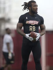 Former Florida State tailback Dalvin Cook looks to