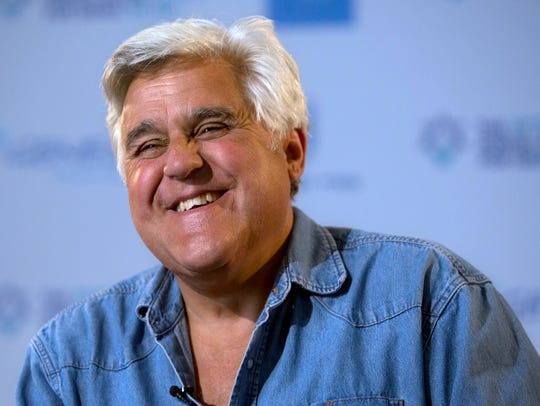 Jay Leno will perform on May 18 at Mayo Performing