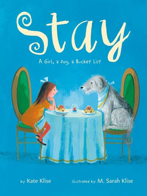 Ozarks children's author Kate Klise has a new picture book out, Stay. Her sister, M. Sarah Klise, is the illustrator.