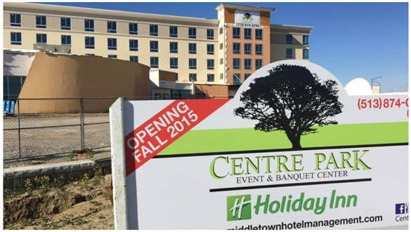 The Centre Park Holiday Inn Event & Conference Center is scheduled to open later this year.