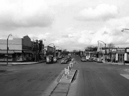 Dated 1947, this photo shows the second location of
