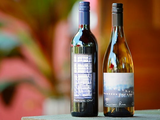 The new Harbinger and Sauvignon Blanc wine at Chaddsford Winery which has unveiled some new wines made in a European-style that was the original concept of the Chadds Ford winery.