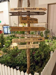 Irwin Landscaping did a First State National Historical Park exhibit at the Philadelphia Flower Show.