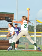 Rayne softball competes in the Pony World Series at Pelican Park.