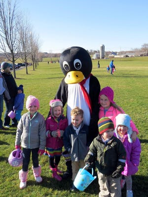 "In addition to participating in age-appropriate Easter egg hunts at Perinton's ""Hop into Spring"" event, they can also meet some extra special guests. The hunts take place on Saturday March 24, beginning at 10 a.m. at the Perinton Community/Aquatic Center, 1350 Turk Hill Road."