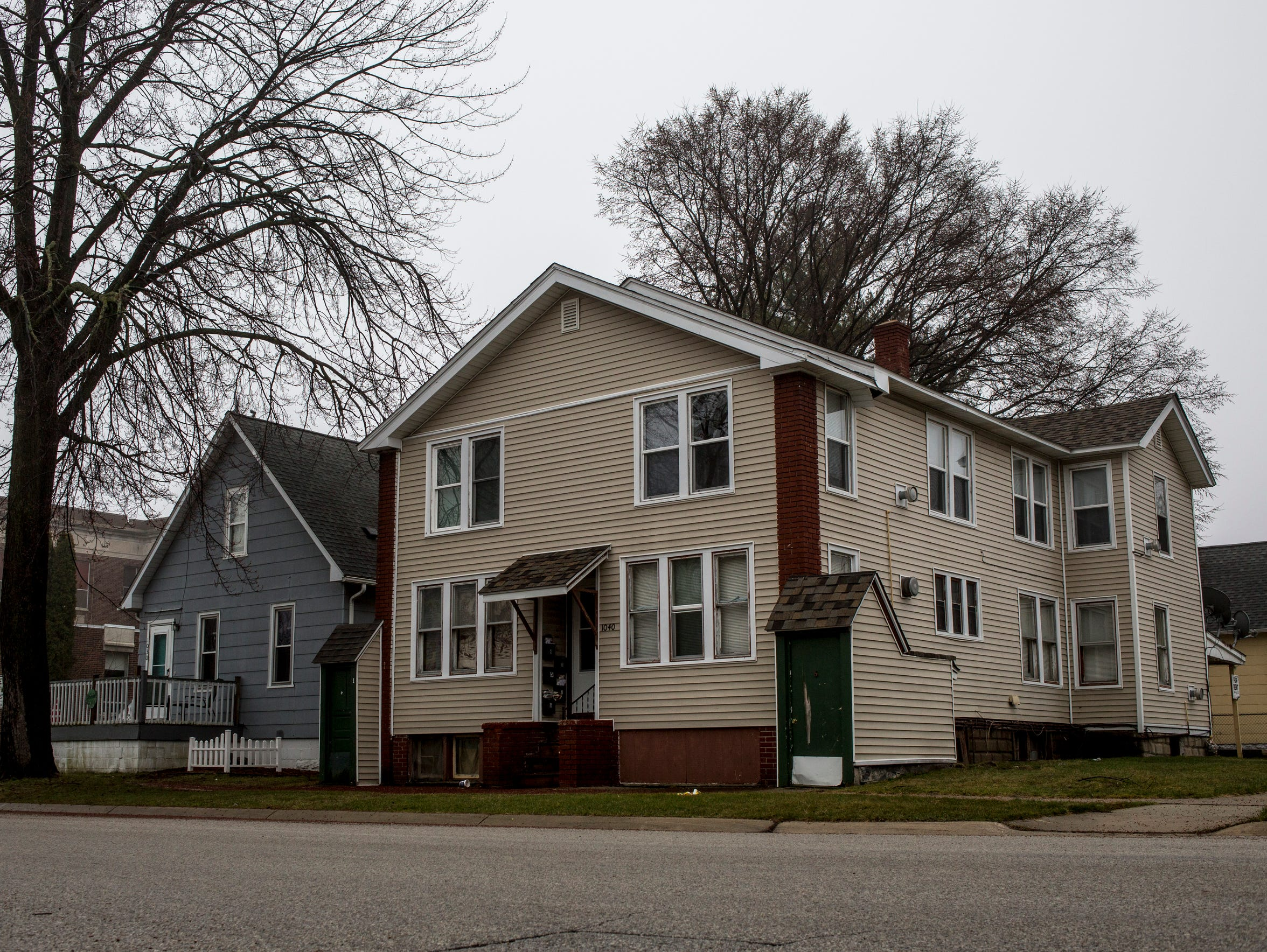 """This rental property at 1040 Chestnut was """"red-tagged"""""""