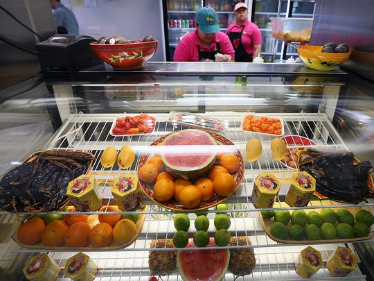 Las Tortugas has opened a second location on Poplar Ave where they make mango, watermelon, and pineapple agua frescas from fresh fruit.