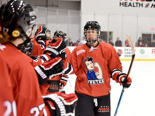 Rebecca Morse thrives on the competition in the NWHL.