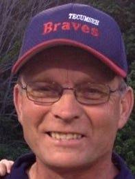 Tecumseh softball coach Gordon Wood