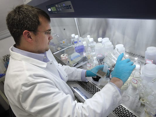 Sweetwater biotechnologist