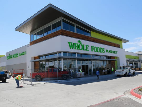 The 50,000 square-foot Whole Foods Market at 100 Pitt,