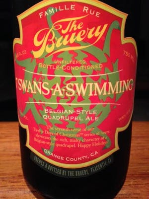 The Bruery 7-Swans-A-Swimming