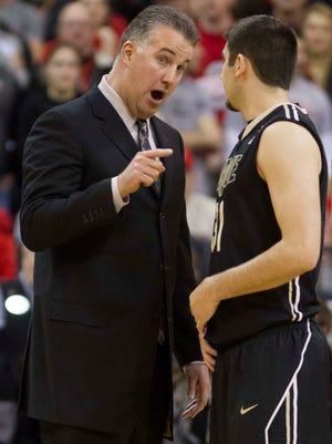 Matt Painter's Boilermakers were the surprise team in the Big Ten this past season.