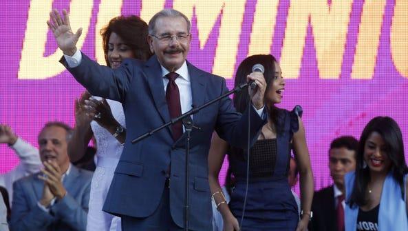 Dominican Republic President Danilo Medina.
