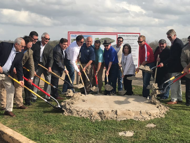 A groundbreaking ceremony on Friday started an $8.5