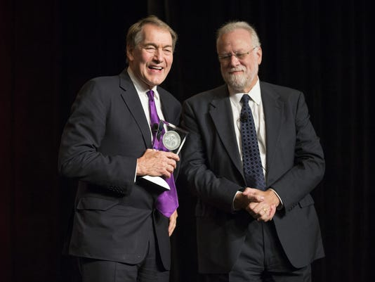Charlie Rose honored