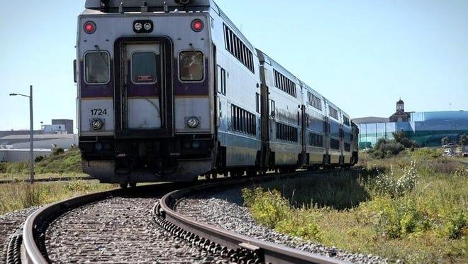 Commuter Rail train.