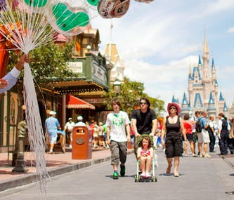 Finding Something For Everyone at Magic Kingdom