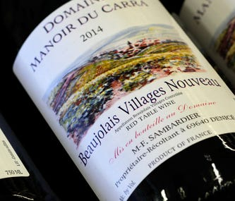French wine finds a place on Thanksgiving table