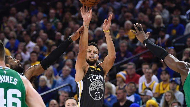 Steph Curry poured in a season-high 49 points.