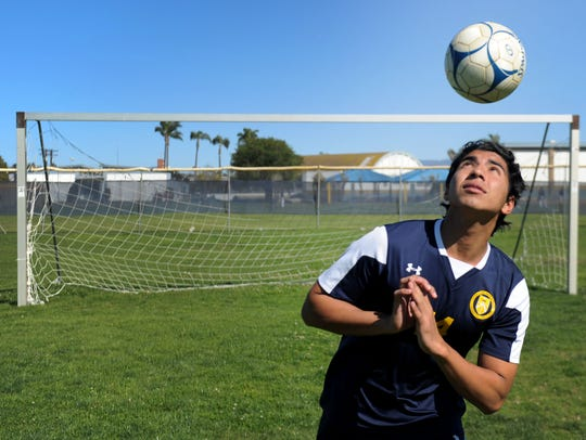 Santa Clara High's Isaac Carbajal was named the Offensive MVP of the Tri-Valley League.