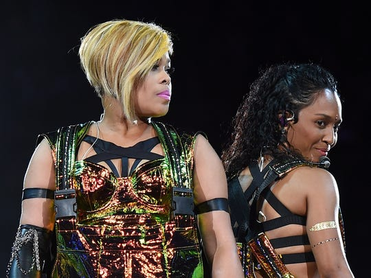 "Tionne ""T-Boz"" Watkins (left) and Rozonda ""Chilli"""