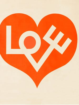 Few others have flown near his level of productivity, save one of his greatest heroes: the modernist designer, Alexander Girard whose iconic design is seen here.