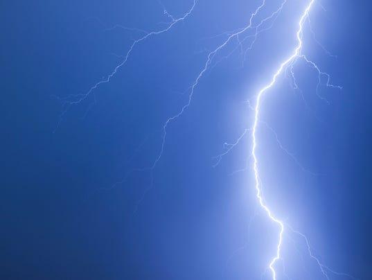 #stock Lightning Stock Photo