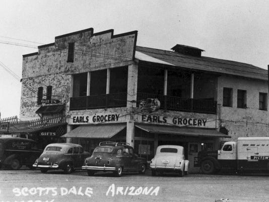 Arizona Then And Now Old Town Scottsdale