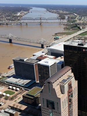 A 2.5 mile long tunnel for sewage and rain water may be constructed along the Louisville waterfront, under I-64, and through Butchertown.