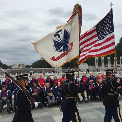 Local veterans were honored with the Presentation of