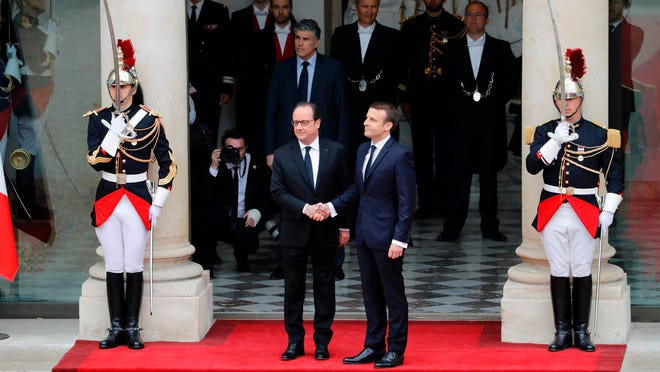 Emmanuel Macron Sworn In As President Of France Promises Economic Focus