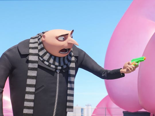 "Steve Carell returns as the voice of Gru in the animated ""Despicable Me 3."""