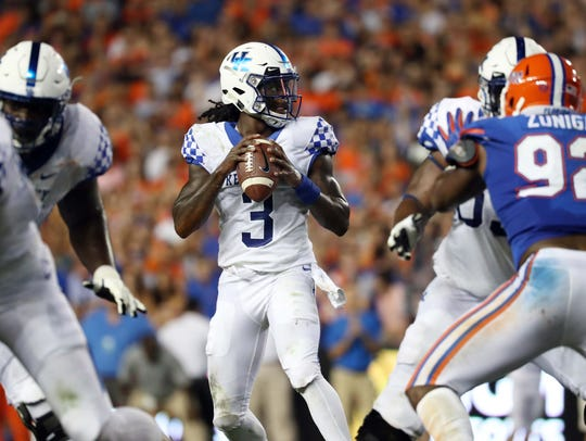 Terry Wilson, in his first season at UK, has played a key role in Kentucky's 5-0 start.