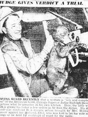 This appeared in the July 10, 1950 Eagle Gazette.