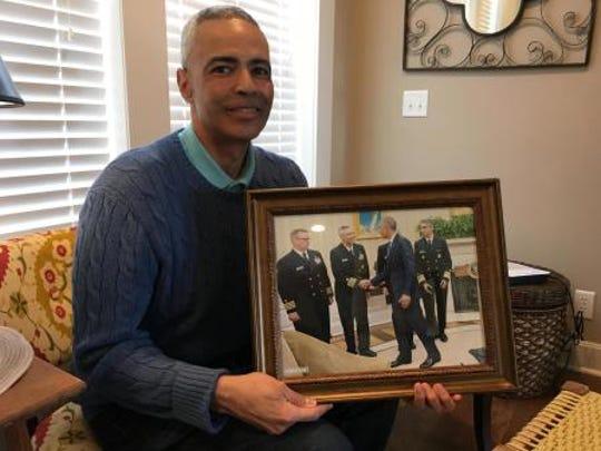 Retired Rear Admiral Jose Belardo traveled the world