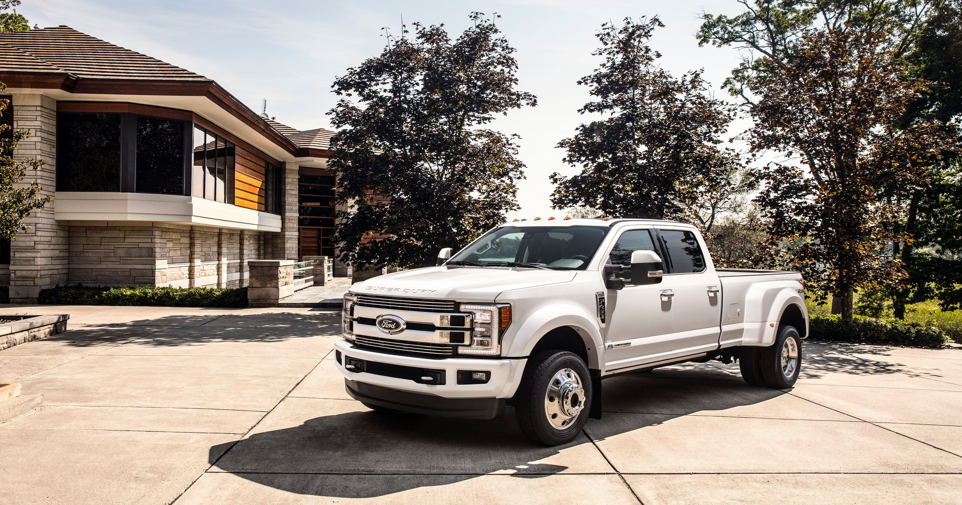 2018 Ford F Series Super Duty Limited Pickup Truck Tops Out At 94000 1955 F100 Interior Seat