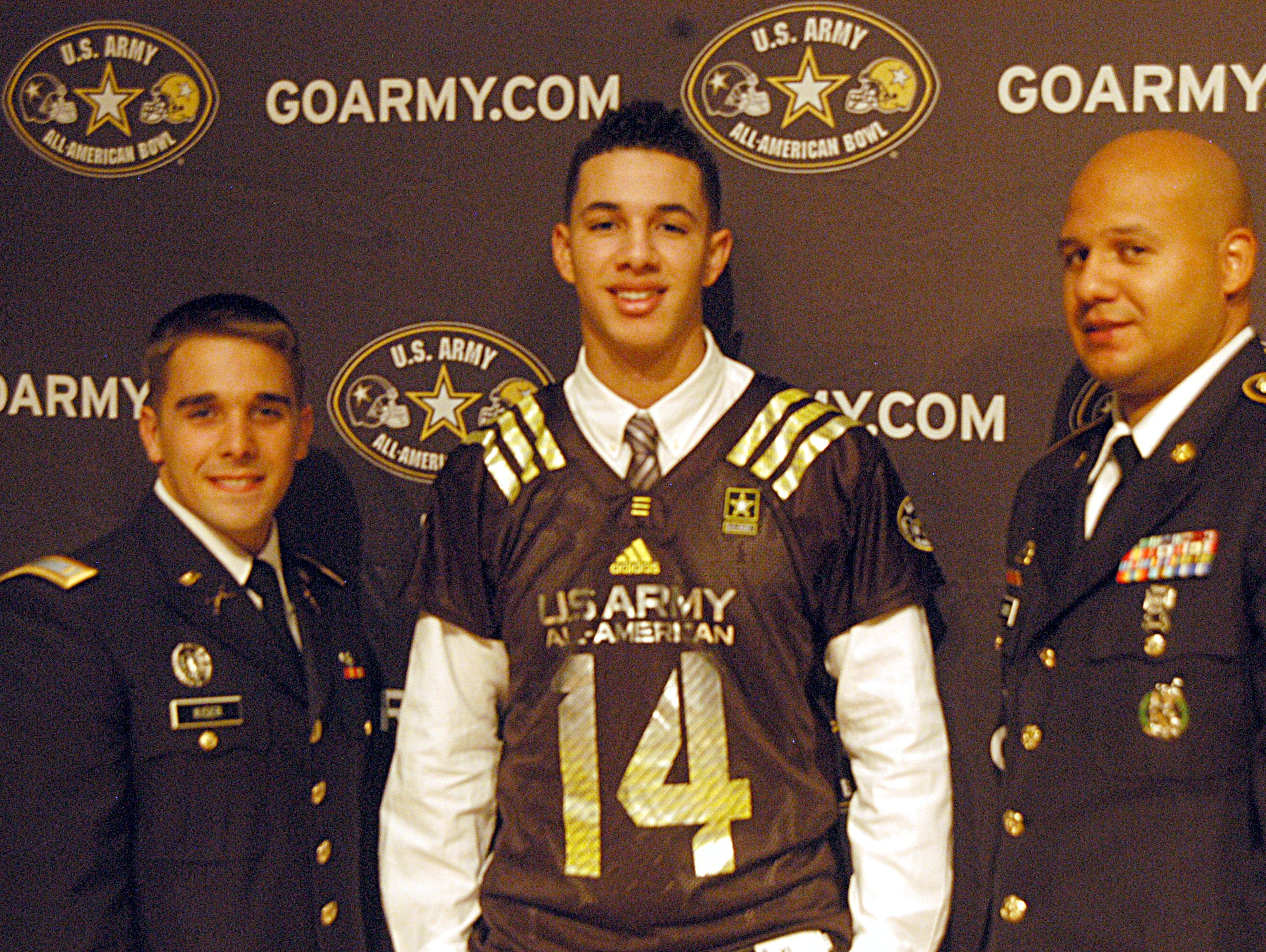 Beech High senior running back Jalen Hurd was selected for the U.S. Army All-American Bowl presentation jersey during his senior season.