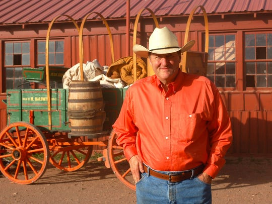 "Steve Gibson is the ""camp cookie"" for the Bell Ranch,"