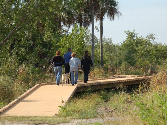 Galt Preserve offers moderate degree of difficulty